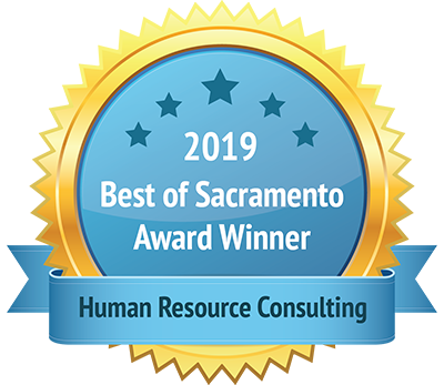 2019 Best of Sacramento Award Winner Human Resources Consulting